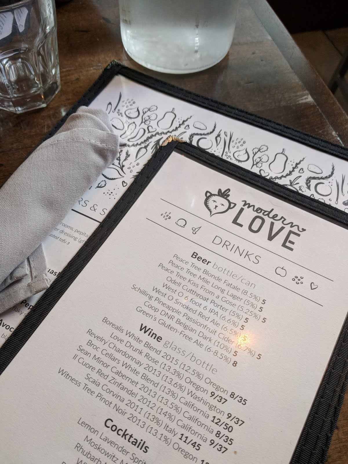 modern love omaha restaurant menu vegan vegetarian food