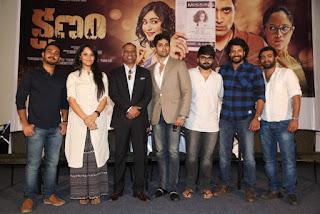 Kshanam Movie First Look Launch