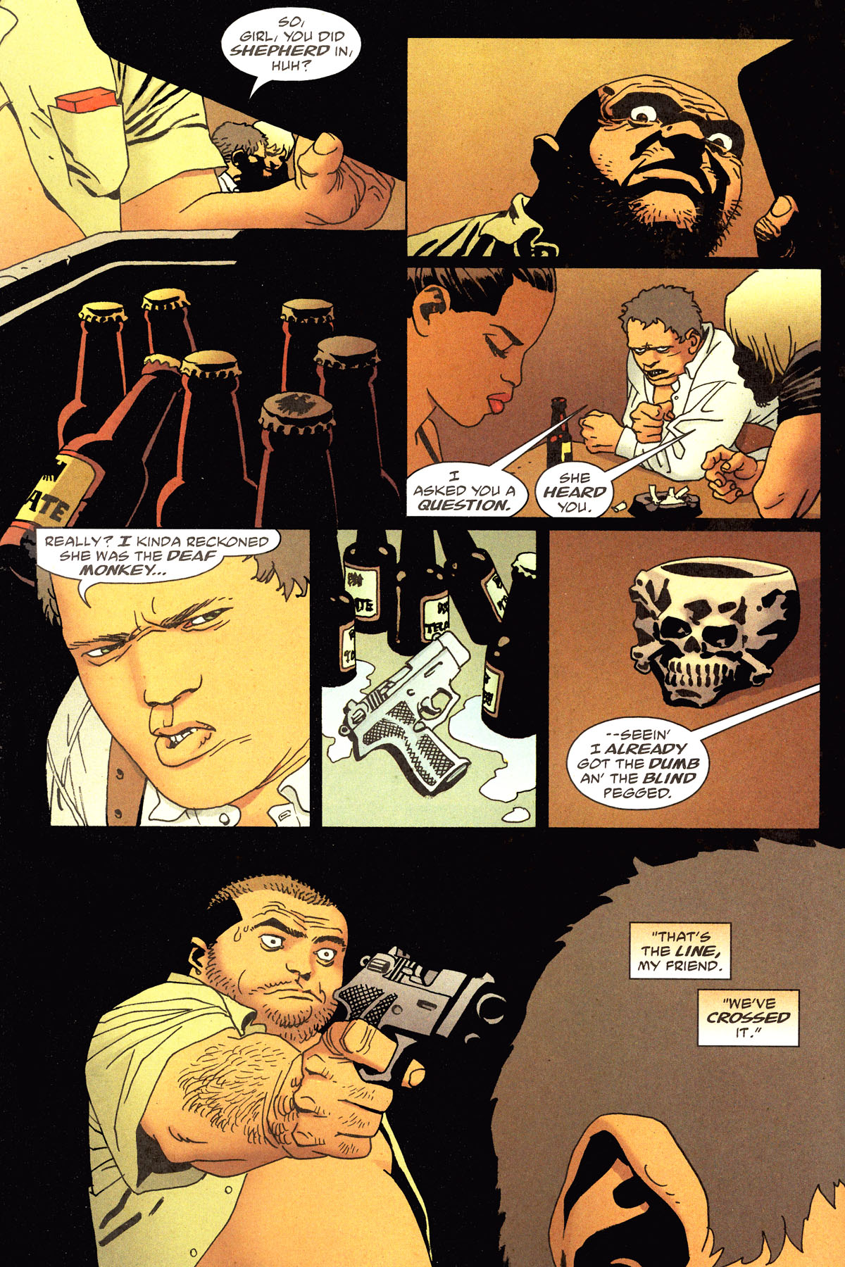 Read online 100 Bullets comic -  Issue #79 - 9