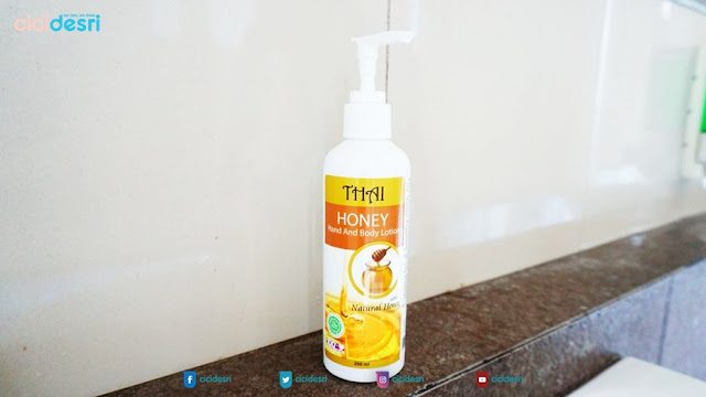 thai cosmetics, thai cosmetics honey series, body wash, body scrub, body lotion