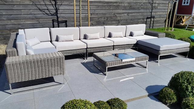 Lounge Bank Tuin : Arbrini design tuinmeubelen
