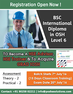 The Course Covers Risk Management Health And Safety Culture Occupational