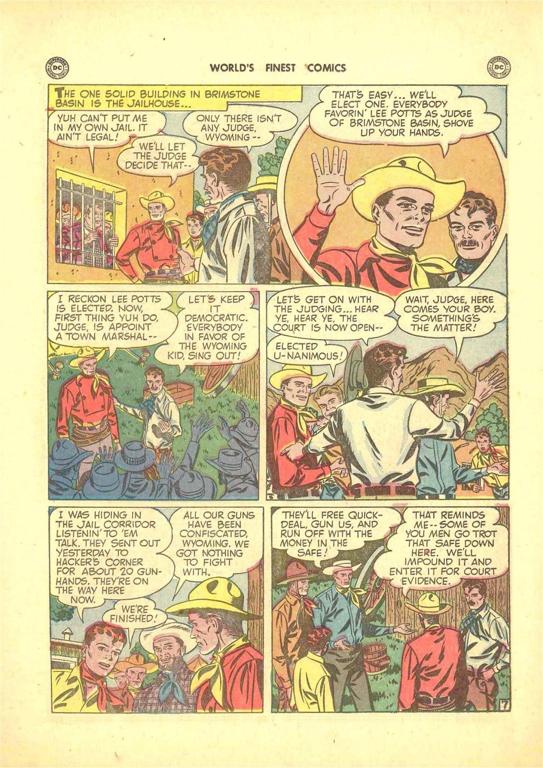 Read online World's Finest Comics comic -  Issue #50 - 45