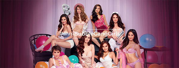 Bubble Gang Babes Are FHM November 2017 Free Download