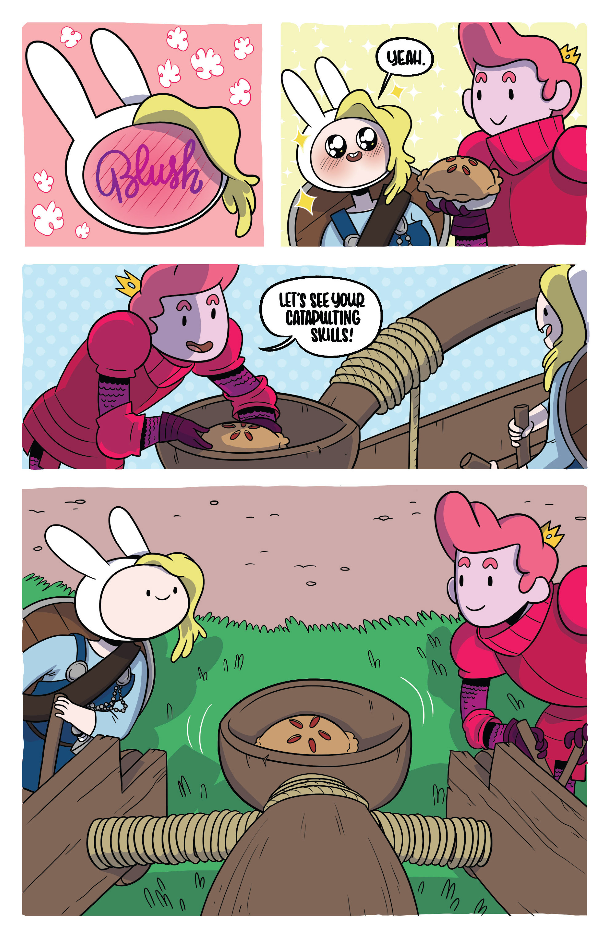 Read online Adventure Time Fionna and Cake Card Wars comic -  Issue #3 - 16