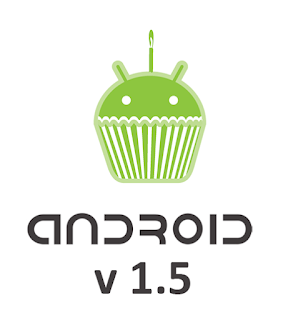 Android Cupcake - Version 1.5 of Android