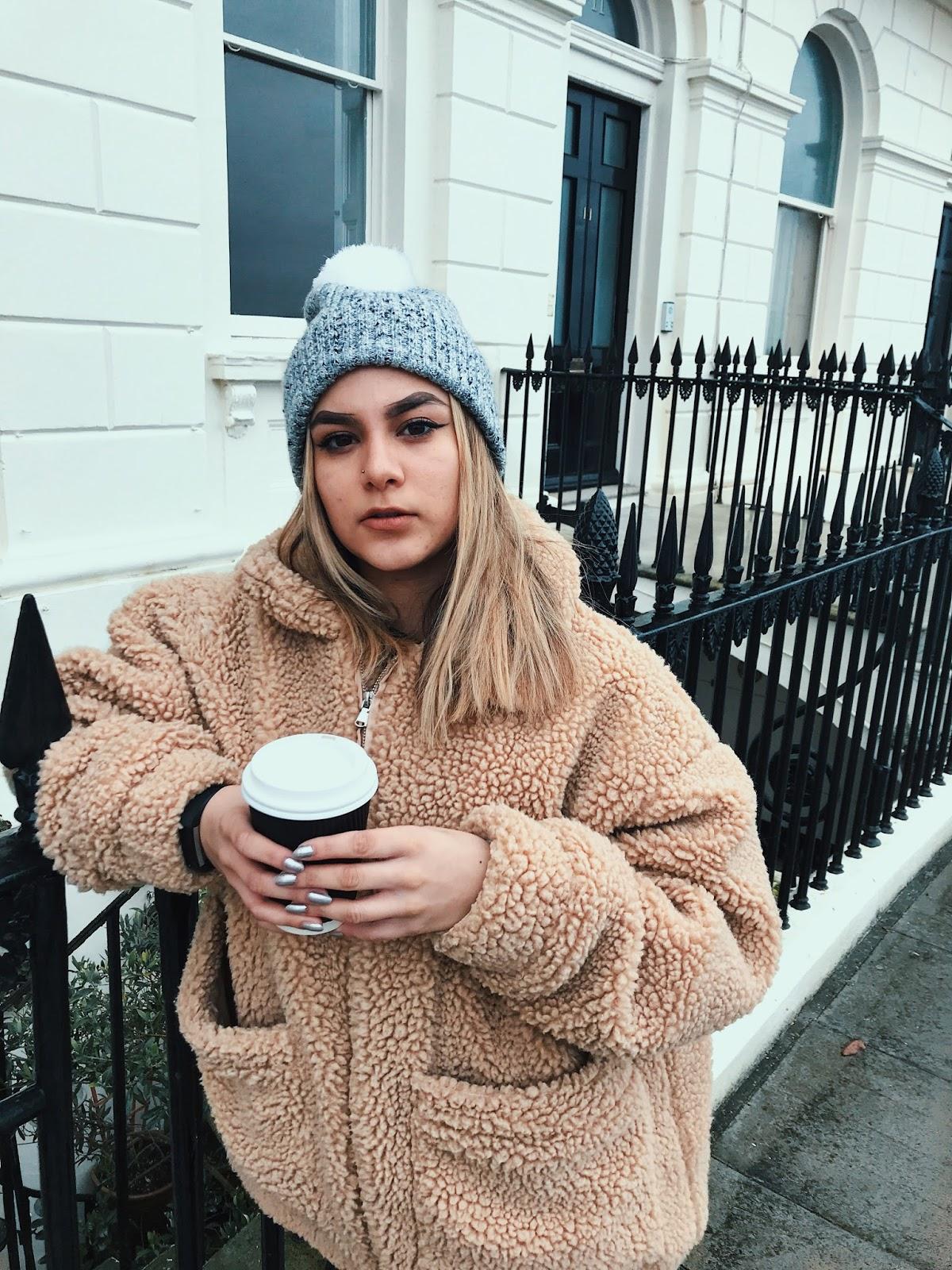 yasminstefanie i am gia teddy coat