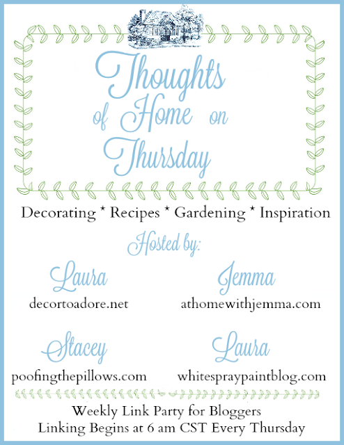 Thoughts of Home on Thursday, blog linky party