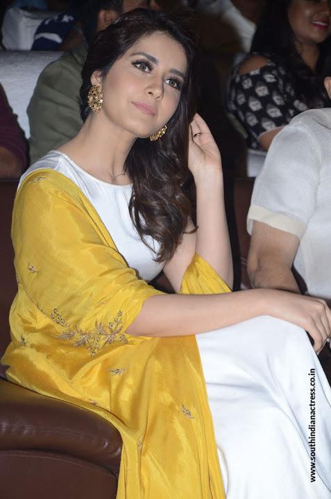 Raashi Khanna at Balakrishnudu Movie Audio Launch