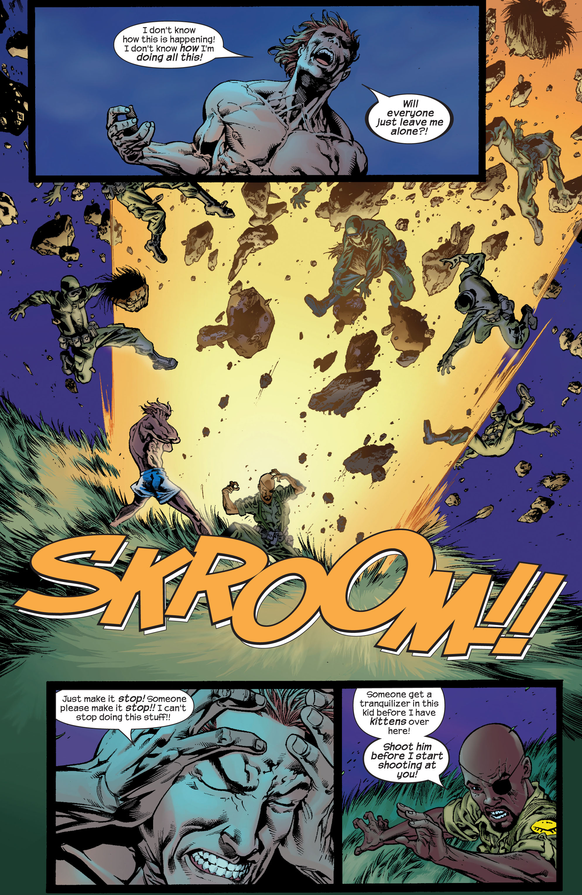 Read online Ultimate X-Men comic -  Issue #68 - 6
