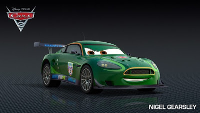 Nigel Gearsley - Cars 2 Movie