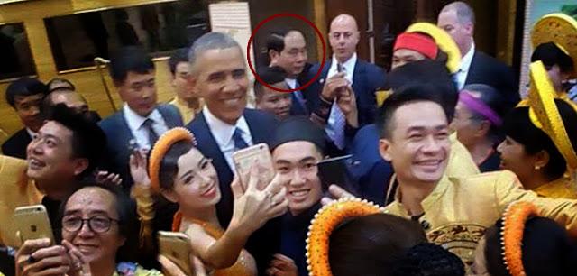 """Vì sao Trần Đại Quang lườm Obama bằng """"đôi mắt hình viên đạn""""?"""