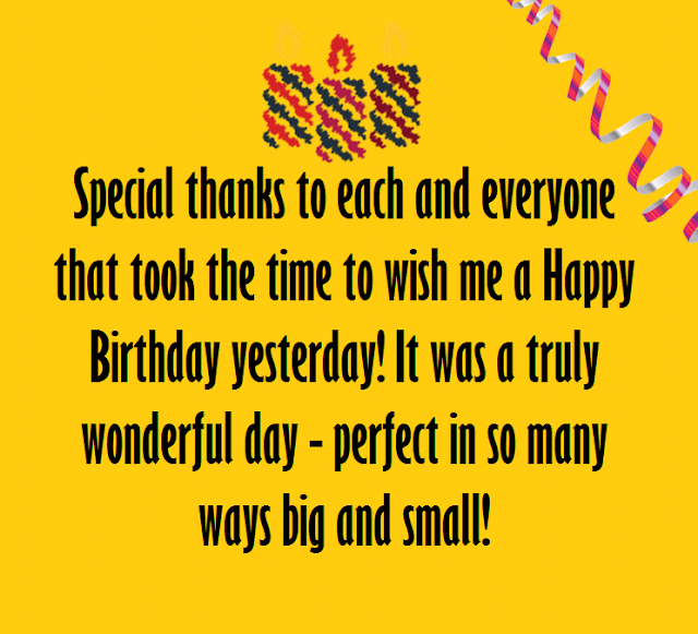 New Thank You Messages for Birthday Wishes Quotes Notes – Thanks for the Birthday Greeting