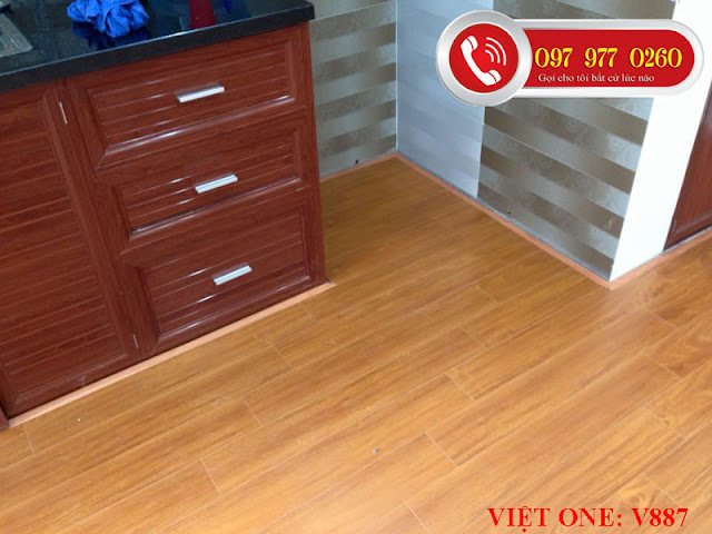 Sàn gỗ việt One V887