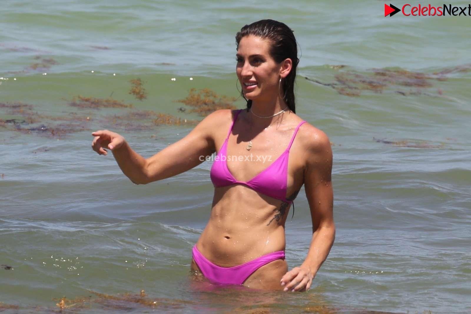 Kaylee Ricciardi in Pink Bikini Booty ass Butts Boobs in Bikini July 2018 ~ CelebrityBooty.co Exclusive Celebrity Pics