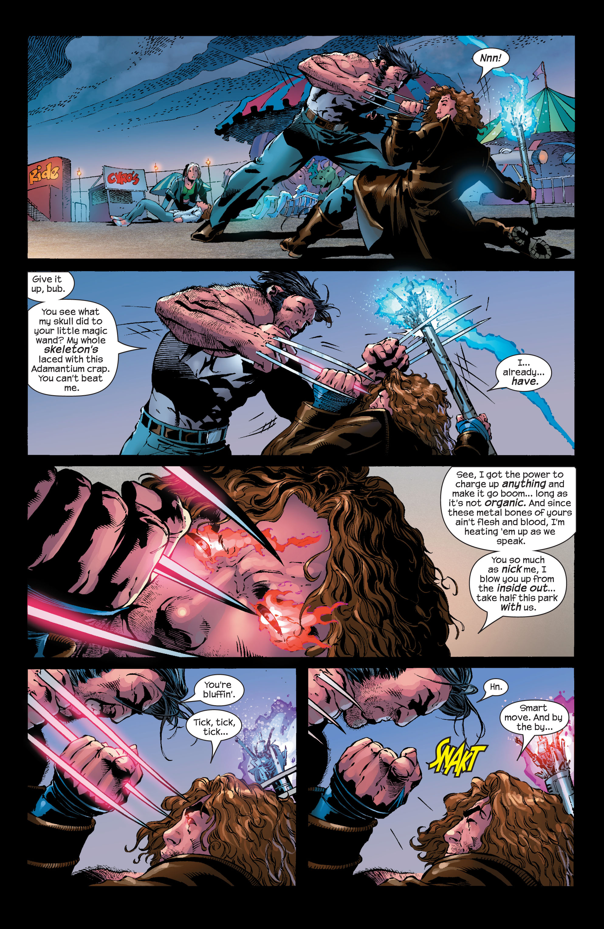 Read online Ultimate X-Men comic -  Issue #50 - 22