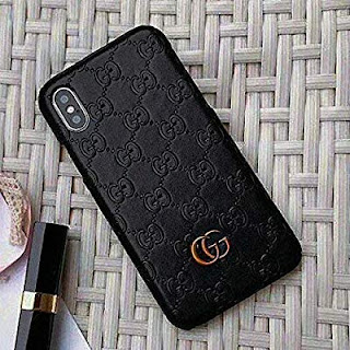 Gucci black case iPhone 8, 7 Plus