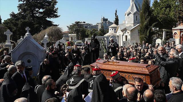Estambul despide al difunto patriarca armenio (video)