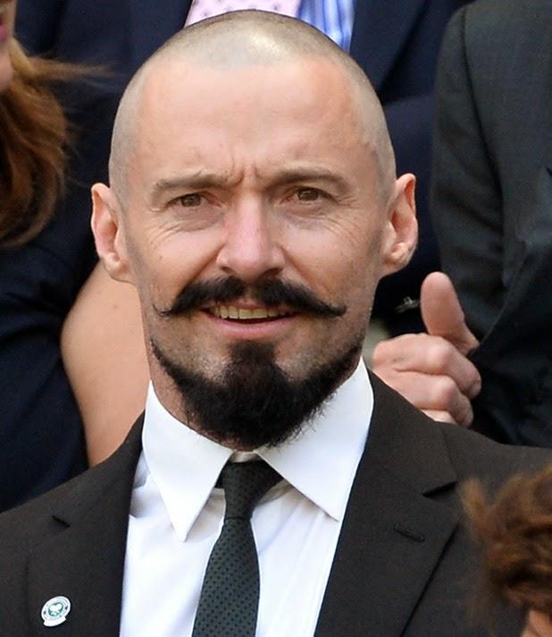 Stupendous Hugh Jackman39S Blackbeard Facial Hairstyle Pictures Short Hairstyles Gunalazisus