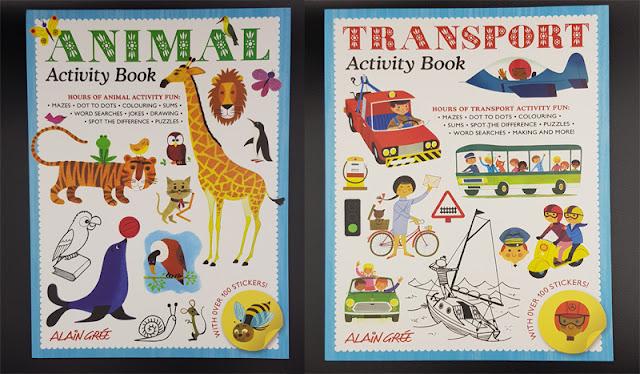 Activity Books ideal for children - by RachaelJess.com