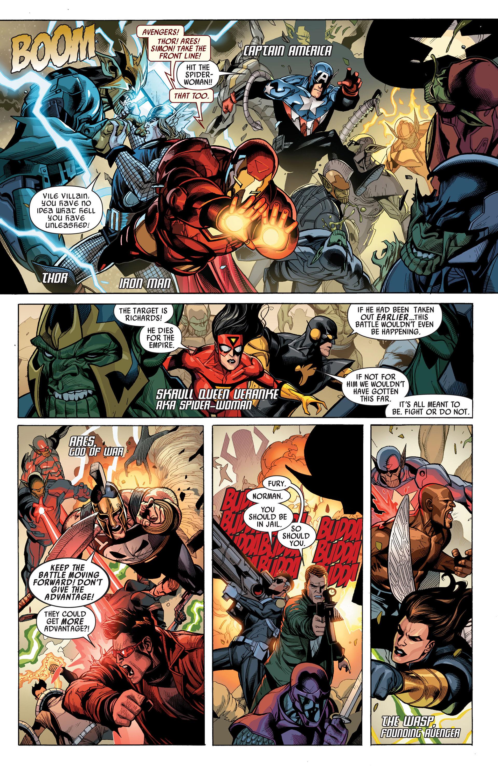 Read online Secret Invasion comic -  Issue #7 - 4