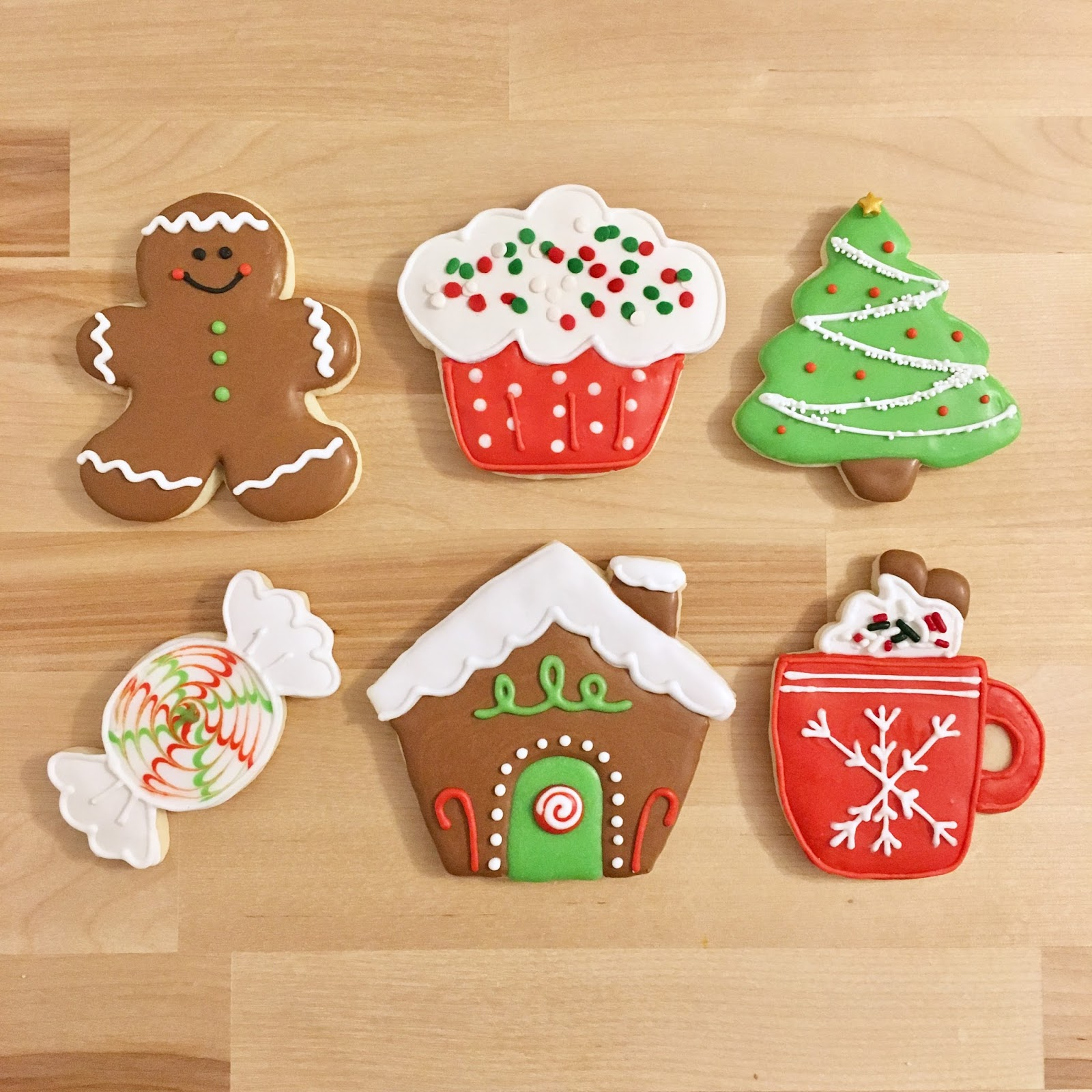 Sweet Scarlet Baking: Christmas Cookie Decorating Classes