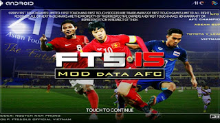 FTS 15 mod AFC Apk + Data Android