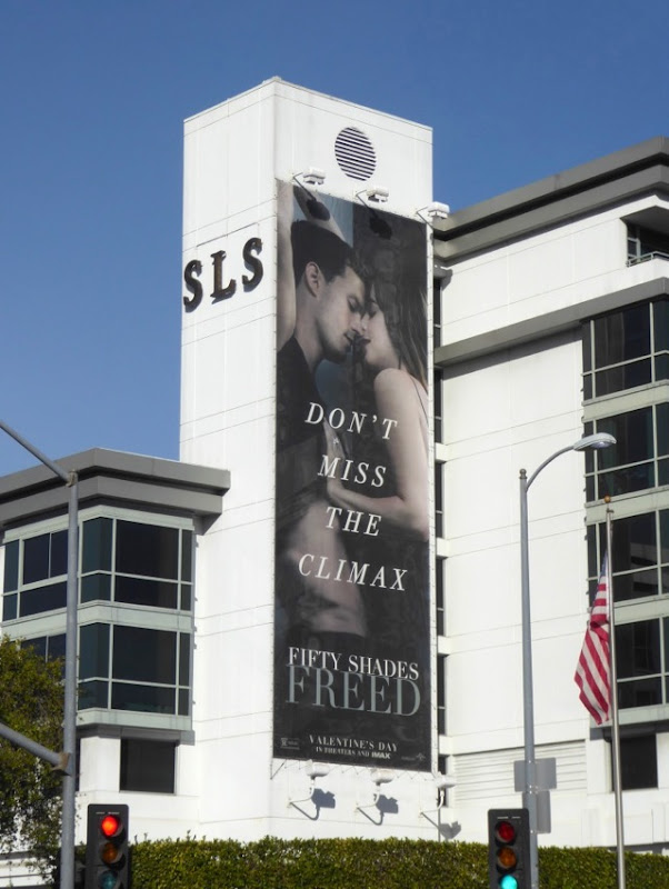 Fifty Shades Freed movie billboard