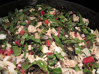 Pasta with Red Chard & Sausage