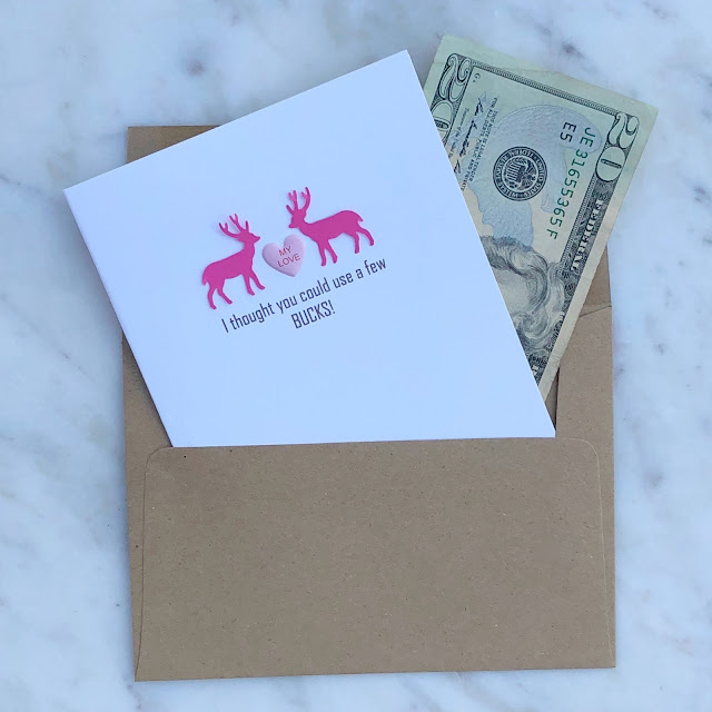 Creative ways to give money for Valentine's Day ~ www.jacolynmurphy.com