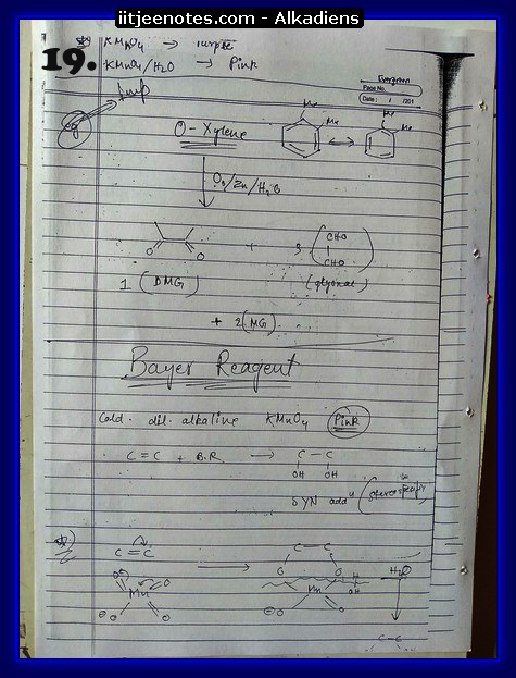 Alkadiens Notes9