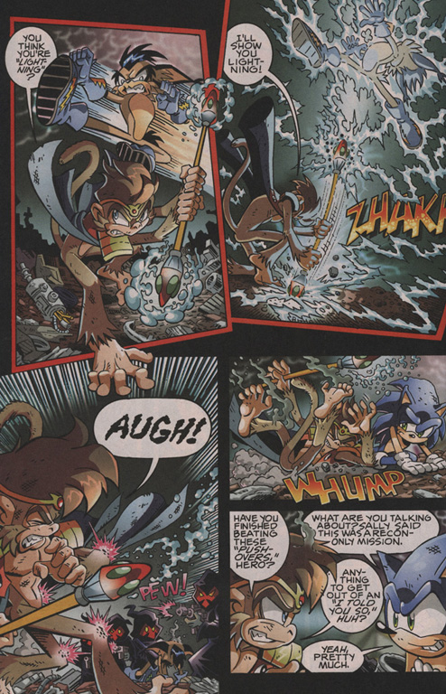 Read online Sonic The Hedgehog comic -  Issue #202 - 13