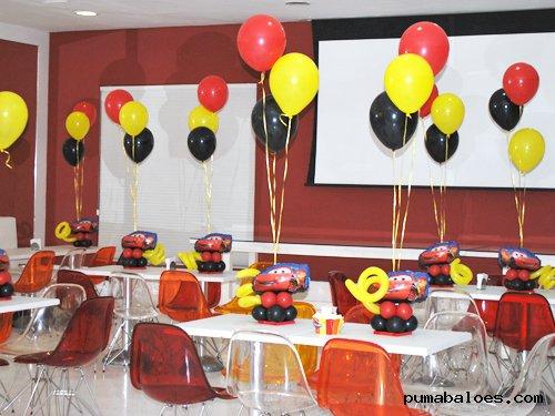 Centros De Mesa Com Baloes Ballonne Festas