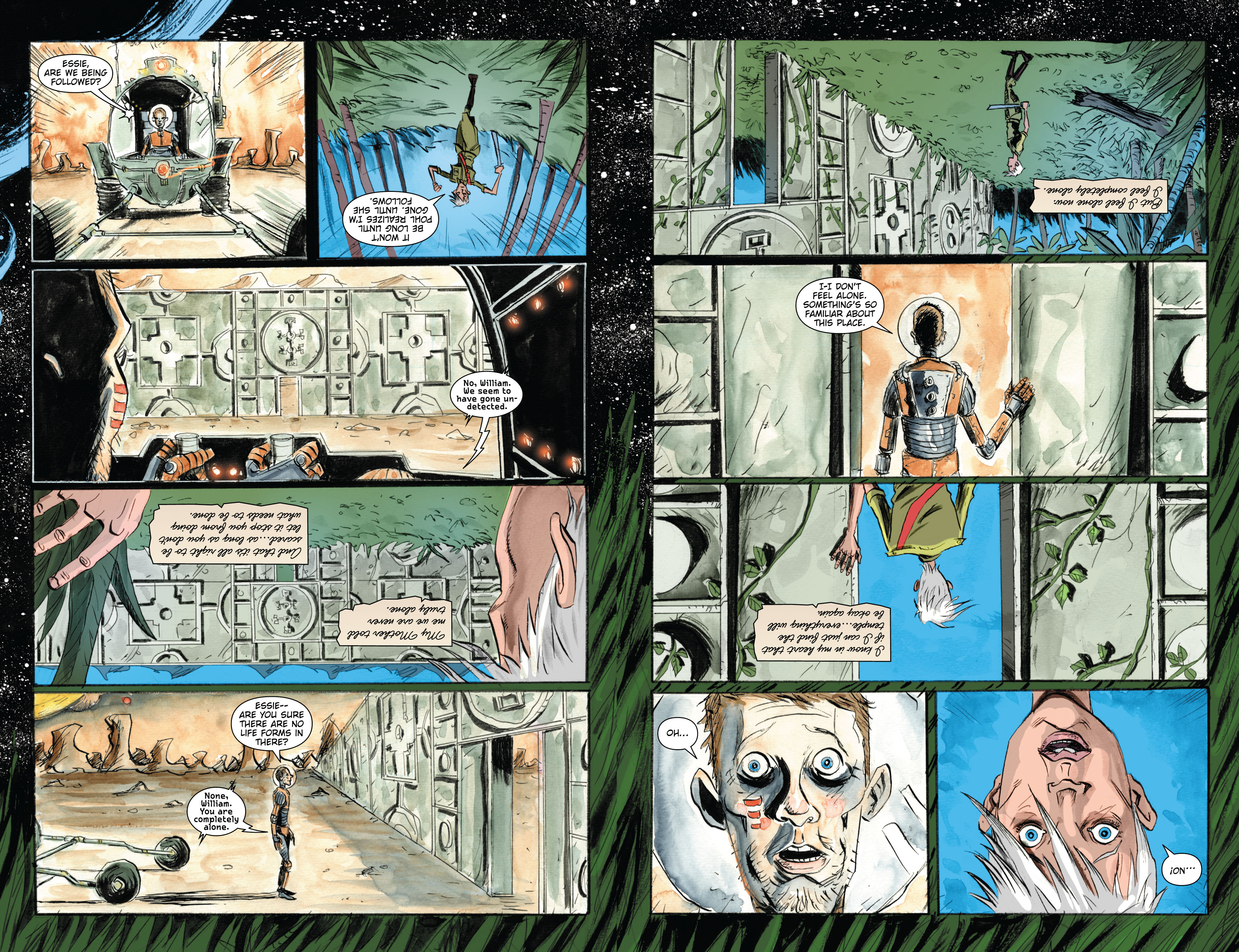 Read online Trillium comic -  Issue # TPB - 157