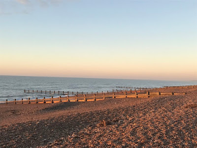 Worthing beach at sunrise