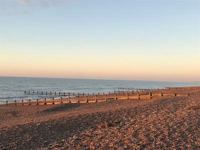 Worthing beach at sunrise