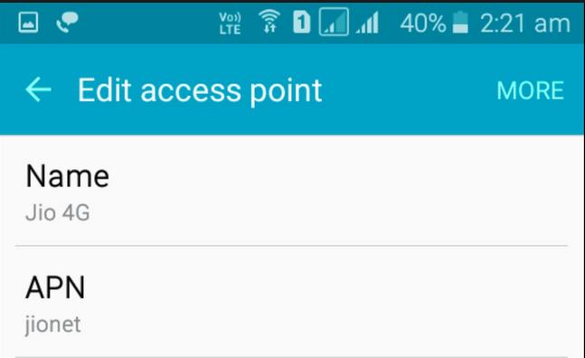T mobile APN Settings Samsung Galaxy s7
