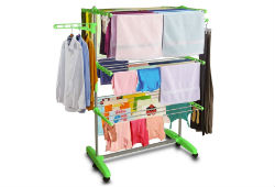 WebelKart Heavy Quality Cloth Drying Stand For Rs 2499 (Mrp 7999) at Amazon deal by rainingdeal.in