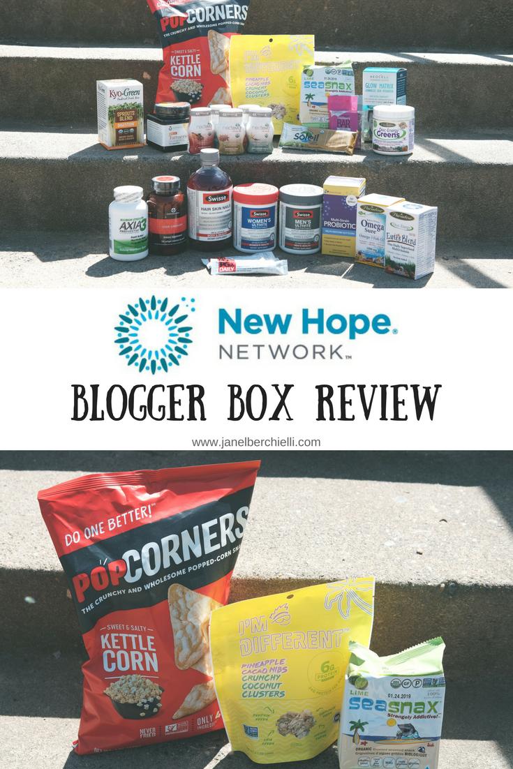New Hope Blogger Box Snack Review - Janel Berchielli