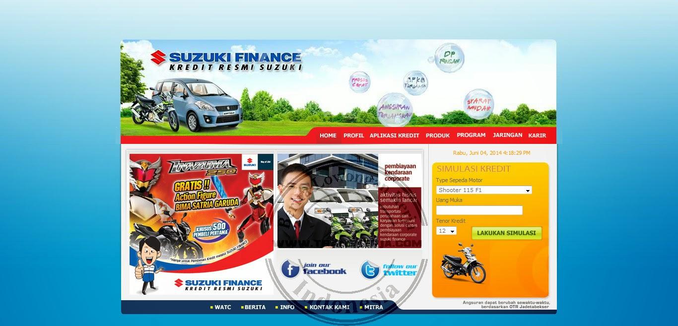 Daftar Lowongan kerja PT Suzuki Finance Indonesia