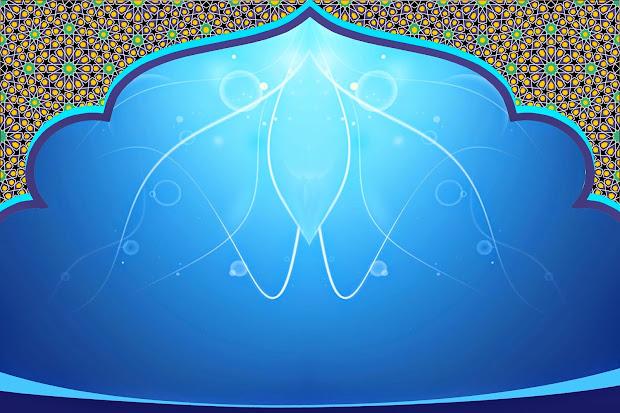 Unduh 470+ Background Islami Biru Hd Gratis