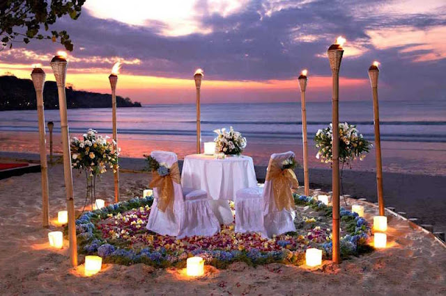 Candle Light Dinner Arrangements in Goa