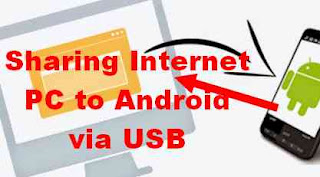 Cara Sharing Internet dari Laptop Ke Android via Kabel Data USB