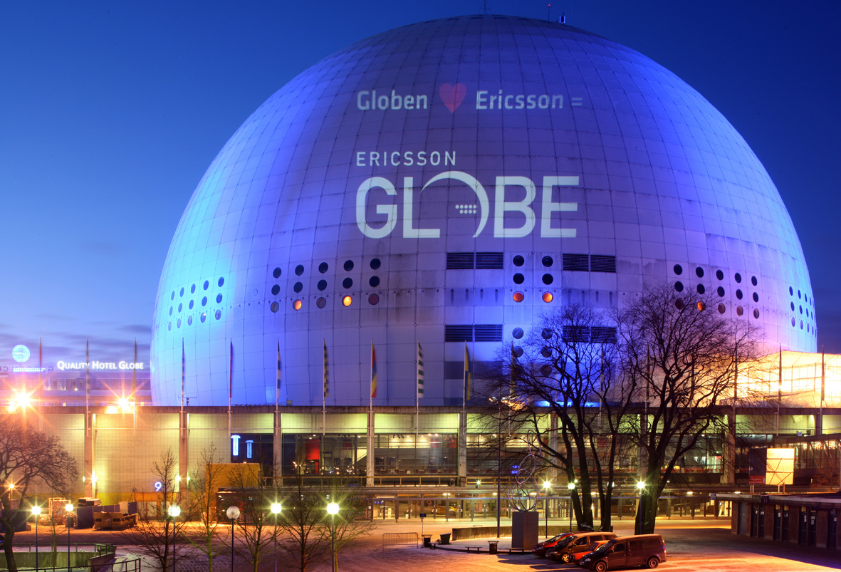 Man Made Structures Ericsson Globe Sweden