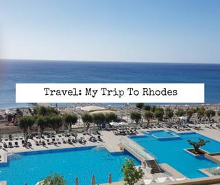 Victoria's Vintage Trip to Rhodes