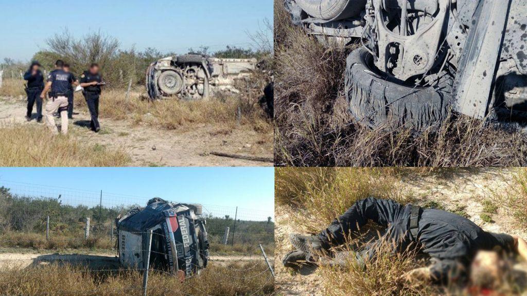 Imagenes: Zetas CDN también asesinan a delegado del #CISEN y coordinador de la #PF en Nuevo Laredo