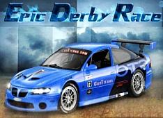 Epic Derby Race autós játék