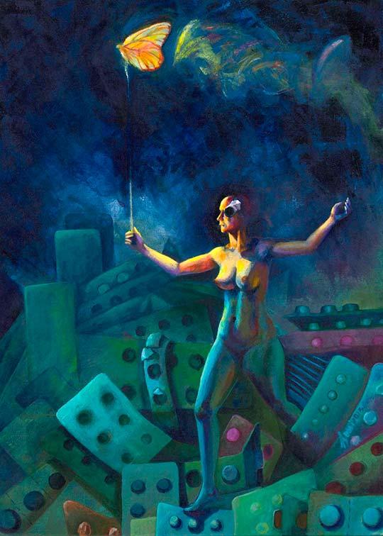 Pintura de Rosana Rossi