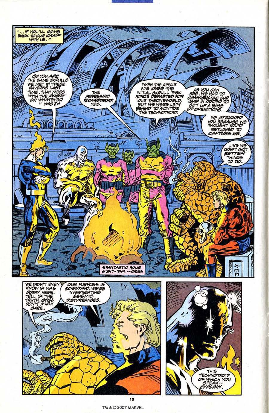 Read online Silver Surfer (1987) comic -  Issue #95 - 12