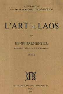 Lao book review - L'art du Laos by Henri Parmentier
